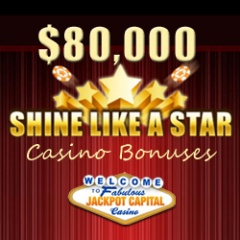 Shine Like a Star Casino Bonuses at Jackpot Capital Casino