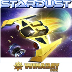New Stardust slot game at WinADay Casino includes pick me bonus game.