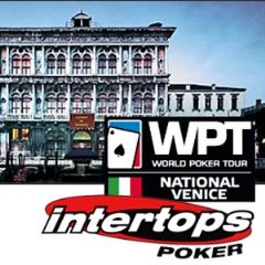 Intertops Poker WPT Venice online satellites