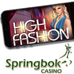 High Fashion slot game from RTG is now in Springbok Mobile Casino