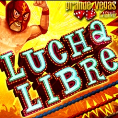 New Lucha Libre slot from RTG now at Grande Vegas Casino.
