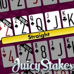 20 free video poker bets at Juicy Stakes Casino