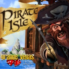 New Pirate Isle slot from RTG now at Grande Vegas Casino.
