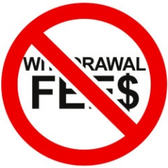 No online poker withdrawal fees.