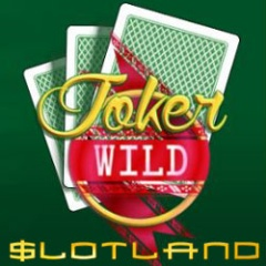 New Joker Wild video poker now at Slotland.
