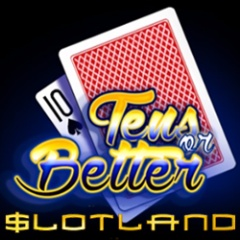 New 10s or Better video poker now at Slotland.eu