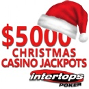 Blackjack, Roulette and Video Poker -- $5000 in Special Christmas Casino Jackpots