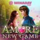 WinADay Casino Introduces Romantic New 'Amore' Slot Game for Valentines; Introductory Freebies & Bonuses Now Available