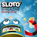 Spring Issue of Sloto Magazine features Calendar of Bonuses and Free Spins Offers, Informative Articles, Comics & Word Puzzles