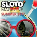 Sizzling Summer Issue of Sloto Magazine is Packed with Bonuses and Feature Articles for Online Slots Players