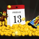 Free Spins for Good Luck this Friday the 13th at Jackpot Capital Casino