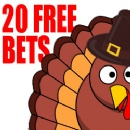 Juicy Stakes Giving Players 20 Free Bets on Table Games, Video Poker & Wheel Games on Thanksgiving Day