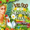 Intertops Casino Celebrates 20th Birthday with $210,000 Spring Fun Bonus Competition