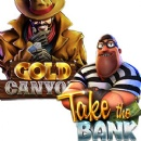 Bonus Cash plus Free Spins on Betsoft's New Take the Bank and Gold Canyon Slots at Intertops Poker & Juicy Stakes Casino