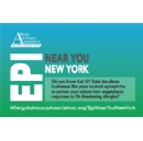 Allergy Advocacy Association Launches New Program, Epi near You New York at St. John Fisher College