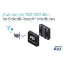 STMicroelectronics Introduces World�s First Integrated EMI Filter for Automotive Ethernet Connectivity