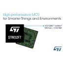 STMicroelectronics Brings ARM� Cortex�-M7 Power to Even More Applications with New Graphics-Centric STM32 Microcontrollers