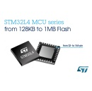 New STM32L4 Microcontrollers from STMicroelectronics Extend Choices, Deliver Best Energy Efficiency in ARM� Cortex�-M4 Class