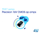 Precision 16V Op Amps from STMicroelectronics Eliminate Post-Assembly Trimming