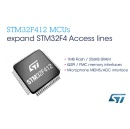 STMicroelectronics Enhances Access Lines of STM32F4 High-Performance Microcontroller Series, including New 125�C Devices