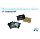 STMicroelectronics Reveals High-Efficiency Wireless Battery-Charging Chipset for Smaller, Simpler, Sealed Wearables