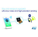 Tiny LDOs from STMicroelectronics Deliver Class-Leading Quiet Power for Precision Sensing