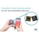 Versatile Accelerometer from STMicroelectronics Delivers Class-Leading Resolution and Low Power in Tiny Footprint