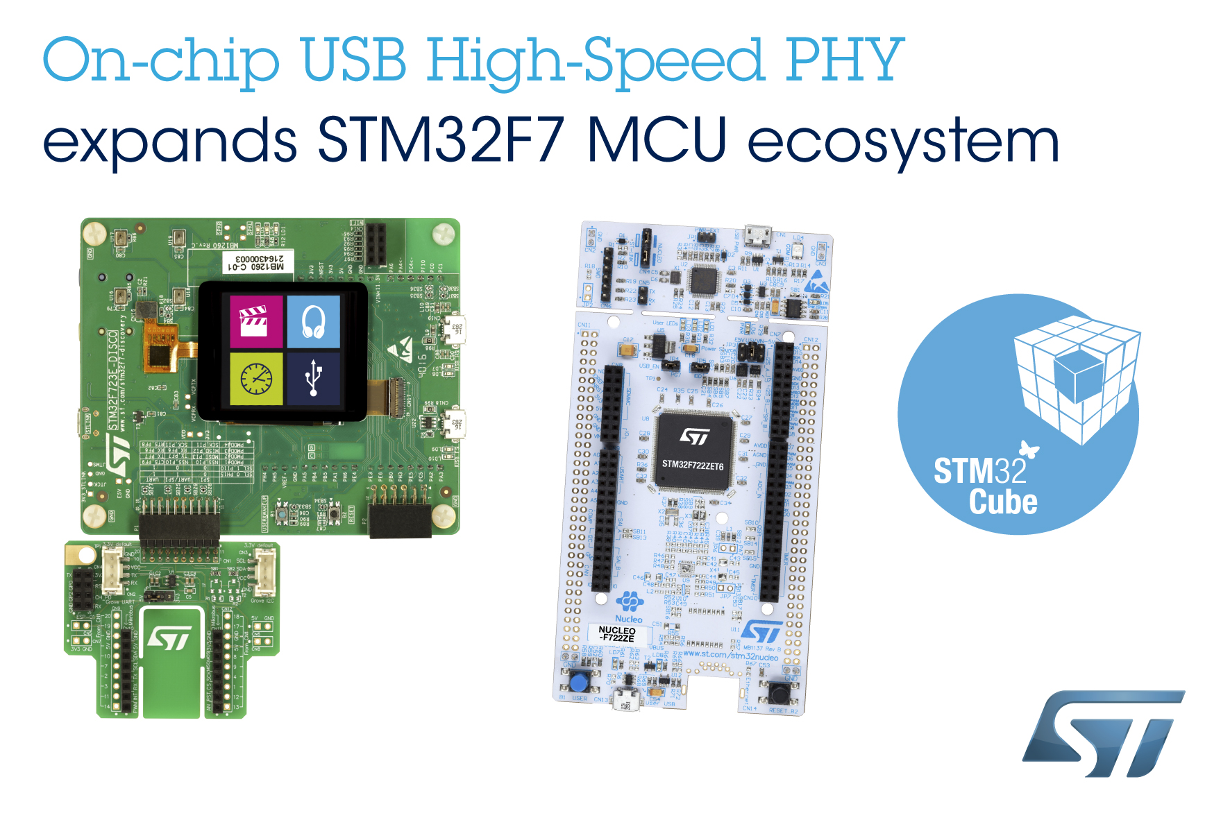 STMicroelectronics Extends Flexibility of STM32 Ecosystem