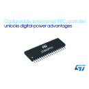STMicroelectronics Simplifies Access to Digital-Power Advantages with Configurable High-Efficiency Interleaved Power-Factor Correction Controller