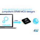 STMicroelectronics Makes STM8 Microcontrollers Even Easier and Faster to Design with New Graphical Configurator
