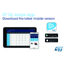 Smartphone and Tablet App from STMicroelectronics Brings New Features for Selecting and Designing with Operational Amplifiers
