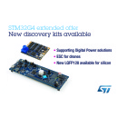 New Discovery Kits and Firmware from STMicroelectronics Kickstart STM32G4 Digital-Power and Motor-Control Projects