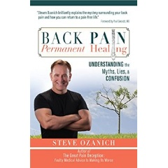 """Back Pain, Permanent Healing"" by Steve Ozanich"
