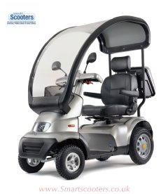 Tga Breeze S4 with optional Rigid Canopy www.smartscooters.co.uk and save an aditional £200 off when you use the discount , mobility scooter code.