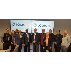 Representatives from DLI and DEED joined Logic PD employees at their Eden Prairie, Minn., worksite on April 5 for an awards ceremony to kick off the new apprenticeship program.