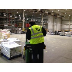 TWI personnel at our newest facility in Germany prepare material for distribution to customers throughout Europe.