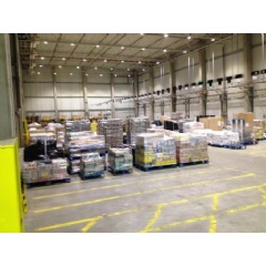 TWI supports new cross-docking customer from our 19,000 sq ft warehouse facility in Herten