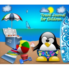 "Book Cover for ""Travel Journal for Children"""