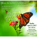The Elizabeth Hospice Announces 8th Annual Wings of Hope Butterfly Release on April 23, 2017