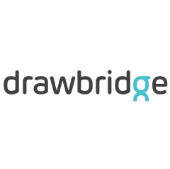The new Drawbridge logo, released in March, 2015.