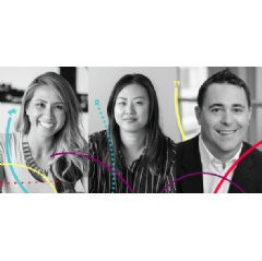 Drawbridge's Valerie Bartlett, Christina Park, and Bryan Kingsbury