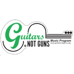 Volunteering with a children's music charity like Guitars Not Guns can benefit a person as a New Year's resolution.