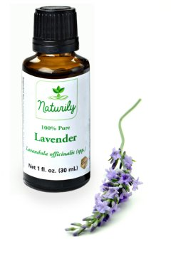 Naturily 100%-Pure Lavender Essential Oil