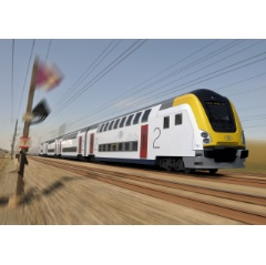 A Bombardier-Alstom consortium is building 445 M7 double-deck trains for Belgian National Railway (SNCB)  - Credit:  Bombardier-