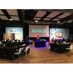 The CyberCenturion clock is ticking. The National Final Competition is set to begin at Plexal Innovation Hub, Queen Elizabeth Olympic Park, East London.  -Credit:Northrop Grumman Corporation-