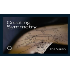 "All-new documentary, ""Creating Symmetry,"" Episode #1: The Vision   -Credit: Gulfstream Aerospace Corp.-"