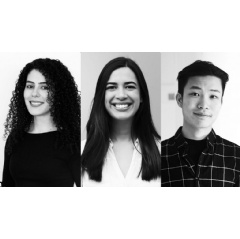 From right: Rula Zuhour, School of the Art Institute of Chicago