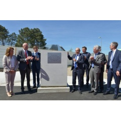 Grounbreaking ceremony of Mérignac 2020 facility in Bordeaux-Mérignac, May 14th, 2019.  -CREDIT: Dassault Aviation-
