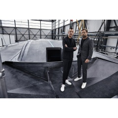 Yacht Building: Karim Rashid and Alex Thomson