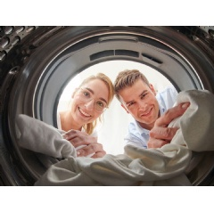 Washing machines can also harbor dangerous bacteria: